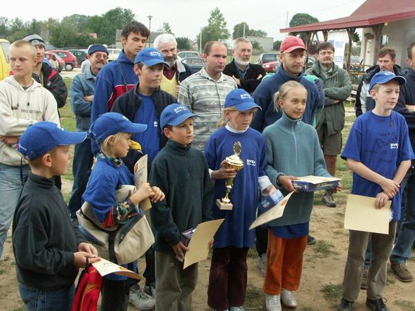 Zagle Kielce: Regaty o Puchar Prezydenta Kielc, Cedzyna 2004