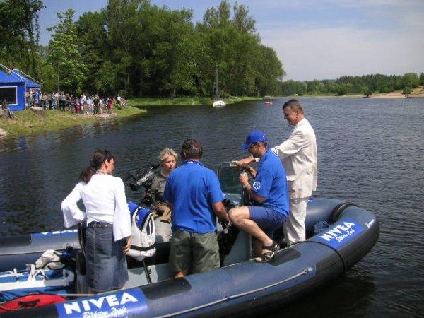 Zagle Kielce: NIVEA Błękitne Żagle, Kielce 2005
