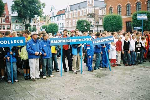 Zagle Kielce: Ogólnopolska Olimpiada Młodzieży, Puck 2006