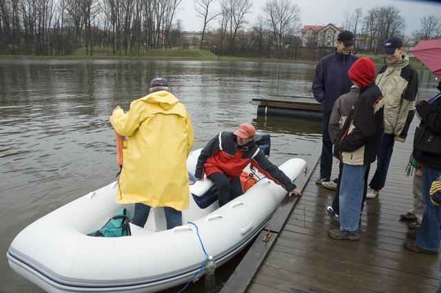 Zagle Kielce: Wodowanie nowego pontonu hybrydowego