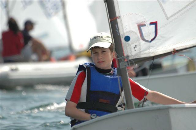Zagle Kielce: Eliminacje do Ogólnopolskiej Olimpiady Młodzieży w klasie Optimist, Gdynia 2007