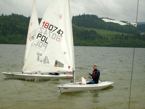 Zagle Kielce: I Eliminacje do OOM klasy Laser 4.7, Kluszkowce 2009