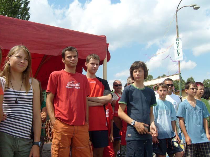 Zagle Kielce: Regaty Interpucharu na Oravie (Słowacja) 2009
