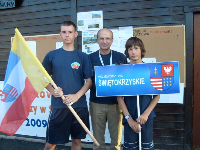 Zagle Kielce: Mistrzostwa Polski - Ogólnopolska Olimpiada Młodzieży, Kluszkowce 19 - 23 sierpnia 2009