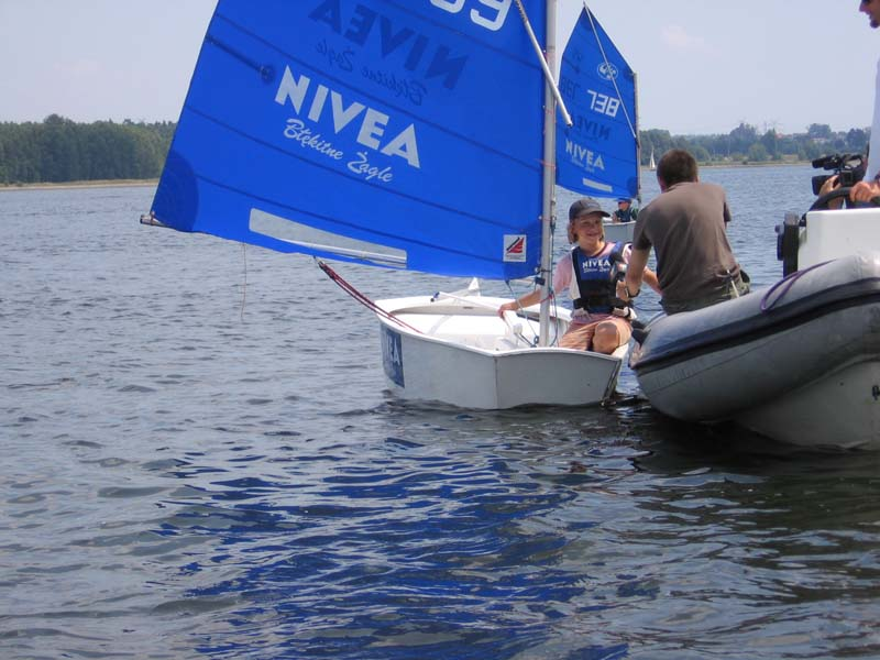 Zagle Kielce: NIVEA Błękitne Żagle, Rybnik 2008
