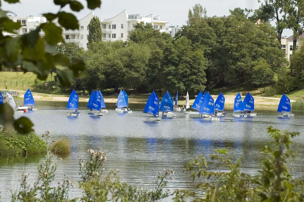Zagle Kielce: NIVEA Błękitne Żagle (regaty wspierane), Kielce 2008