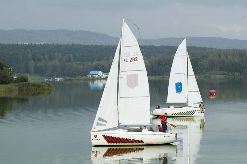 Zagle Kielce: Puchar Prezydenta Kielc w żeglarstwie, Cedzyna 2008