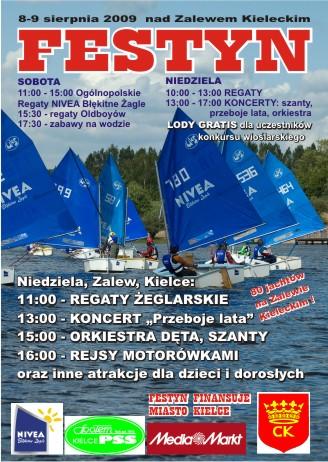 Zagle Kielce: Baśka rządzi! - NIVEA Błękitne Żagle, Zalew Kielecki 2009