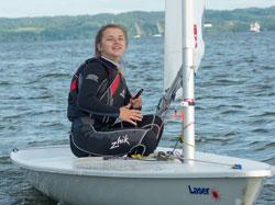 Zagle Kielce: [Zbiórka środowiska żeglarskiego] Natalia na Mistrzostwach Europy, Hiszpania 2017