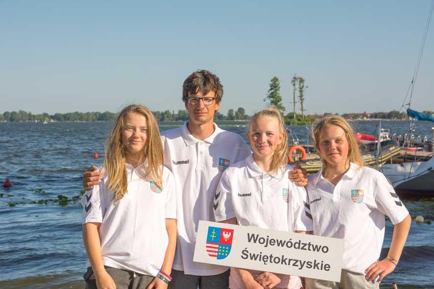 Zagle Kielce: Ogólnopolska Olimpiada Młodzieży, Zegrze 2017