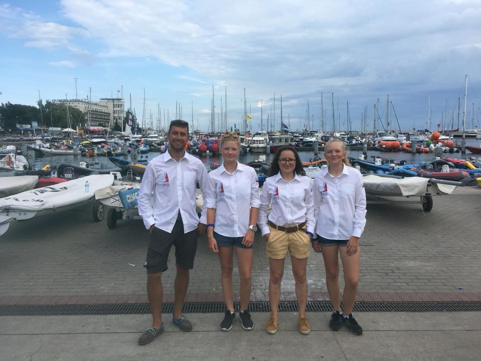 Zagle Kielce: Mistrzostwa Świata Klasy Laser 4.7, Gdynia 2018