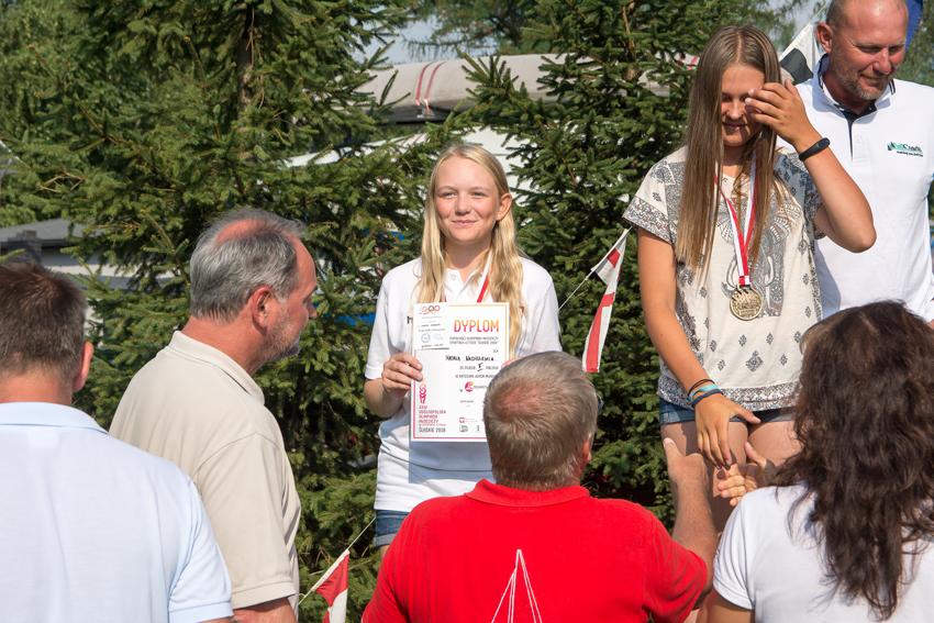 Zagle Kielce: Natalia Nadrzewia zdobyła Wicemistrzostwo Polski w klasie Laser 4.7