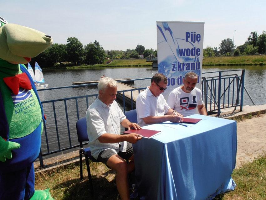 Zagle Kielce: Wodociągi Kieleckie pomogą w edukacji wodnej dzieci