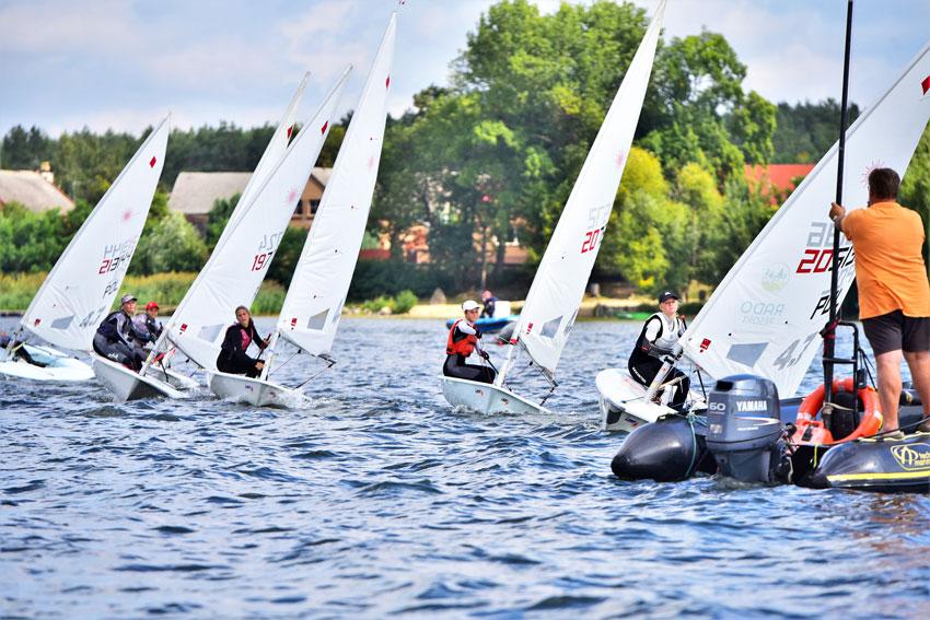 Zagle Kielce: Ogólnopolska Olimpiada Młodzieży w klasie Laser 4.7