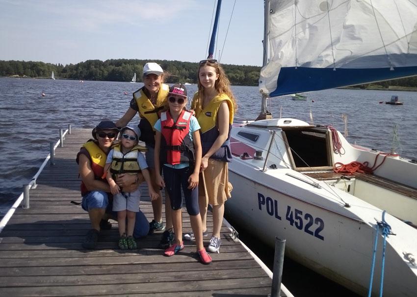 Zagle Kielce: Cała Rodzina pod Żaglami - akcja promująca żeglarstwo
