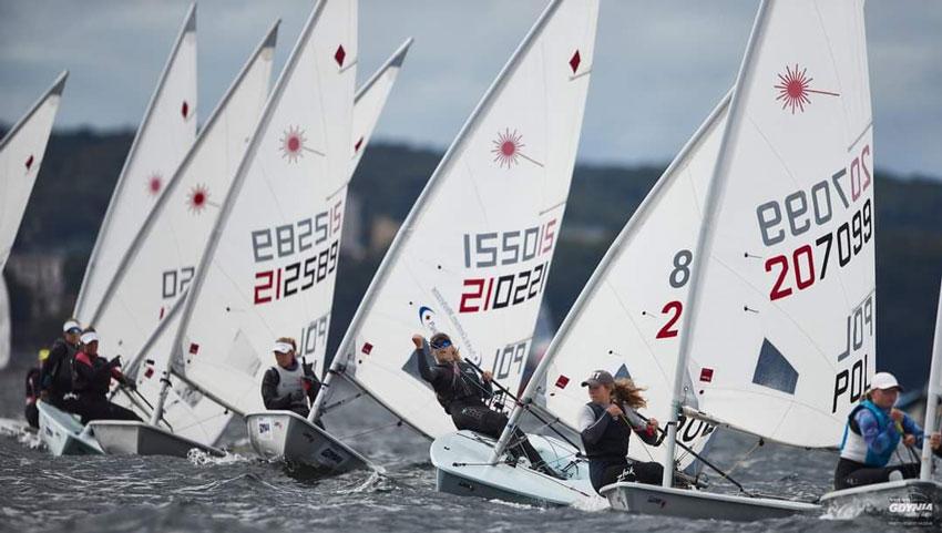 Zagle Kielce: Mistrzostwa Polski klasy Laser Radial, Gdynia 2020