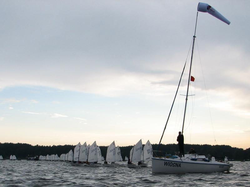 Zagle Kielce: Mistrzostwa Optimist Grupy B, Siemiany 2011