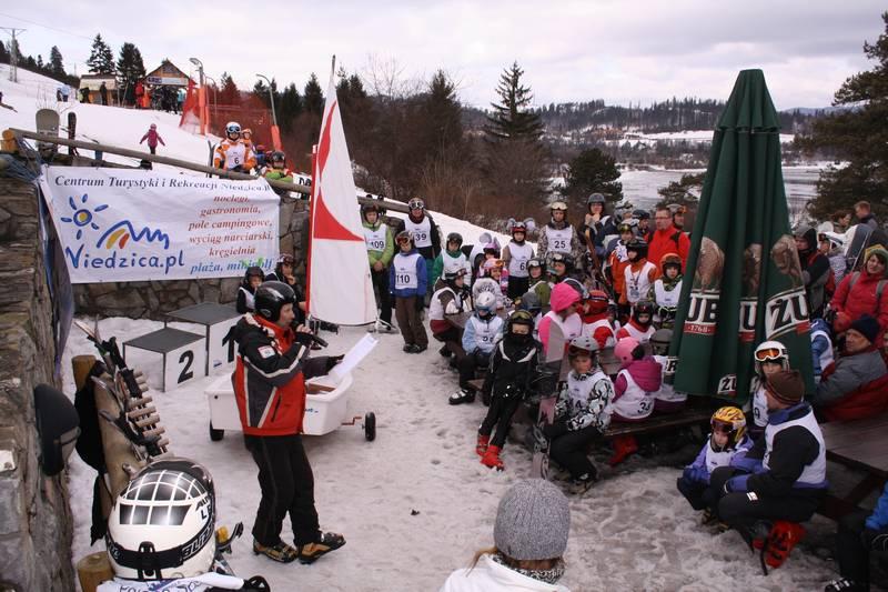 Zagle Kielce: III Ogólnopolskie Zawody Żeglarzy w   Narciarstwie i Snowboardzie, Niedzica 2012