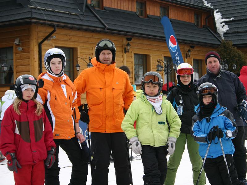Zagle Kielce: Zimowe zgrupowanie kadry wojewódzkiej w Koniakowie, 2011