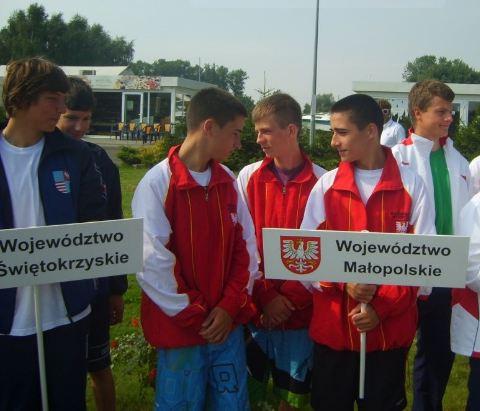Zagle Kielce: XVII Ogólnopolska Olimpiada Młodzieży w Żeglarstwie - Mazowsze 2011