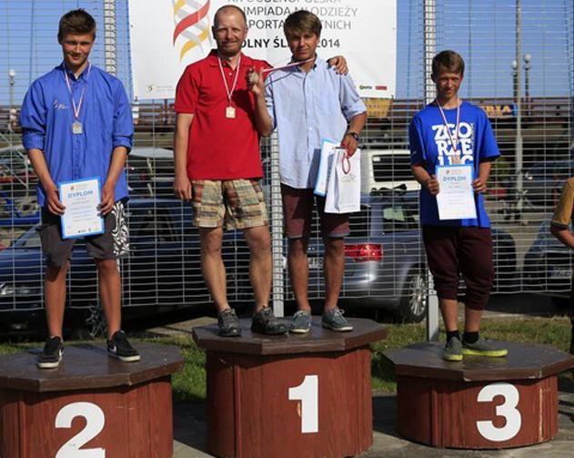 Zagle Kielce: Hubert Kasiak Mistrzem Polski w klasie Laser 4.7 U16